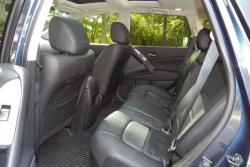 2014 Nissan Murano rear seats