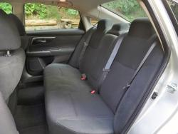 2014 Nissan Altima 2.5 SV rear seats
