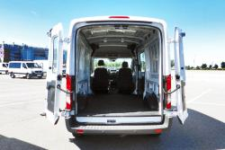 2014 Ford Transit cargo area