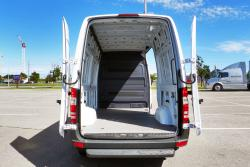 2014 Mercedes-Benz Sprinter cargo area