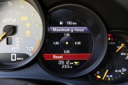 2014 Porsche 911 GT3 G-force meter