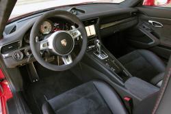 2014 Porsche 911 GT3 dashboard
