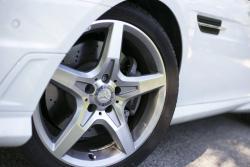 2014 Mercedes-Benz SLK 350 wheel