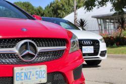 2015 Audi A3 vs 2014 Mercedes-Benz CLA 250
