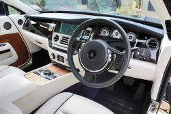 2014 Rolls-Royce Wraith dashboard
