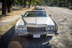 1973 Cadillac Eldorado Convertible & 1976 Cadillac Coupe de Ville