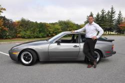 Rob Grguric with 1986 Porsche 944 Turbo