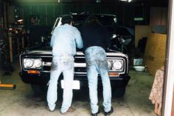 Engine swap with dad in 1998