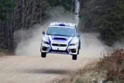 Martin Rowe and Nathalie Richard in #2 2015 Subaru WRX STI