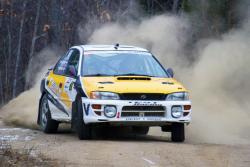 Sylvain and Simon Vincent in #3 1994 Subaru Impreza