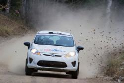 Will Hudson and John Hall in #24 2011 Ford R2 Fiesta