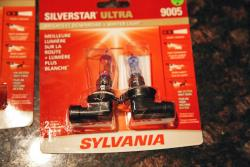 Sylvania SilverStar Ultra headlights