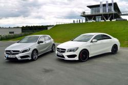 First Drive: 2014 Mercedes Benz CLA 45 AMG mercedes benz luxury cars first drives