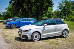 Audi A1 quattro and RS4 Avant
