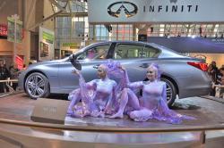 Preview: 2014 Infiniti Q50  car previews luxury cars infiniti auto shows 2013 toronto 2013 detroit 2013 autoshows