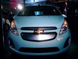 Preview: 2014 Chevrolet Spark EV car previews electric green news chevrolet auto shows 2013 autoshows 2012 la autoshow