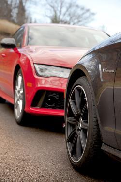 2014 Audi RS 7 versus 2014 Mercedes-Benz CLS 63 AMG-S 4MATIC