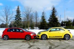 2014 Beetle GSR vs 2013 Volkswagen GTI