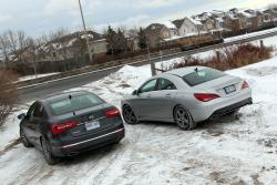 Comparison Test: Kia Cadenza vs M-B CLA 250