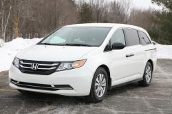 Day by Day Review: 2014 Honda Odyssey SE car test drives honda daily car reviews