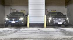 2014 Cadillac CTS vs. 2014 Lexus GS 350