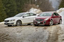 2014 Buick Regal GS AWD vs 2014 Volvo S60 Platinum AWD