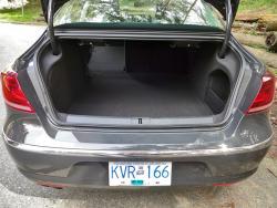 2014 Volkswagen CC Sportline trunk