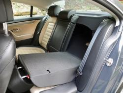 2014 Volkswagen CC Sportline rear seats with seat down