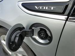 2014 Chevrolet Volt charging port