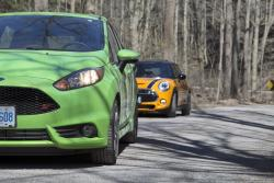 2014 Mini Cooper S vs 2014 Ford Fiesta ST