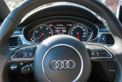 2014 Audi A7 TDI steering wheel