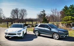 2014 Luxury SUV Comparison Diesels