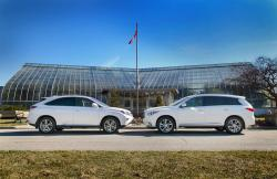 2014 Luxury SUV Comparison Hybrids