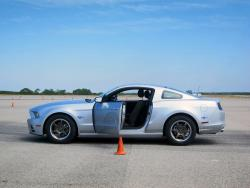 Cooper CS5 Grand Touring - 2014 Ford Mustang V6 at Cooper Tire and Vehicle Test Centre
