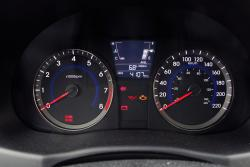 2014 Hyundai Accent gauges