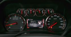 2014 GMC Sierra SLT 1500 4WD Crew Cab All-Terrain gauges