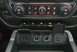2014 GMC Sierra SLT 1500 4WD Crew Cab All-Terrain HVAC controls