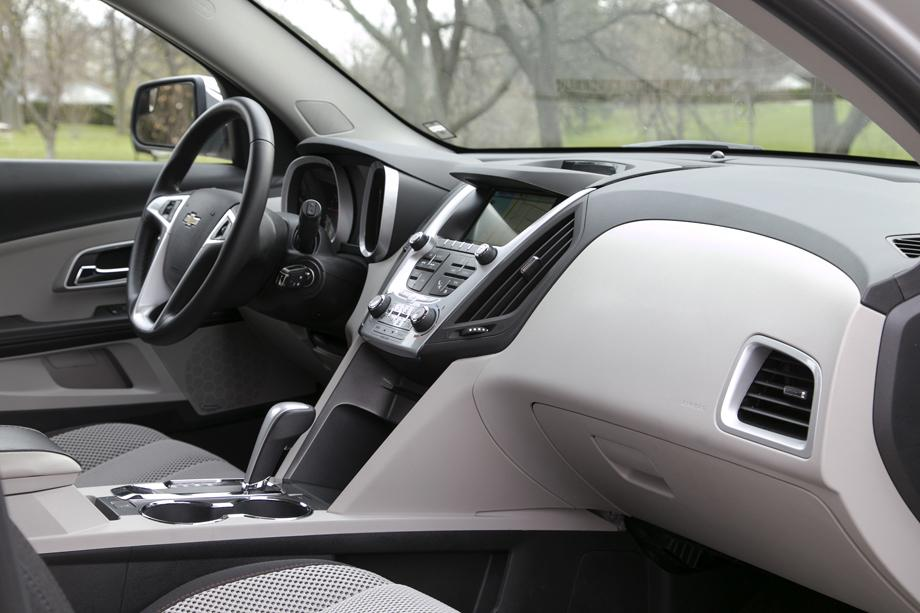 2014 Chevrolet Equinox dashboard