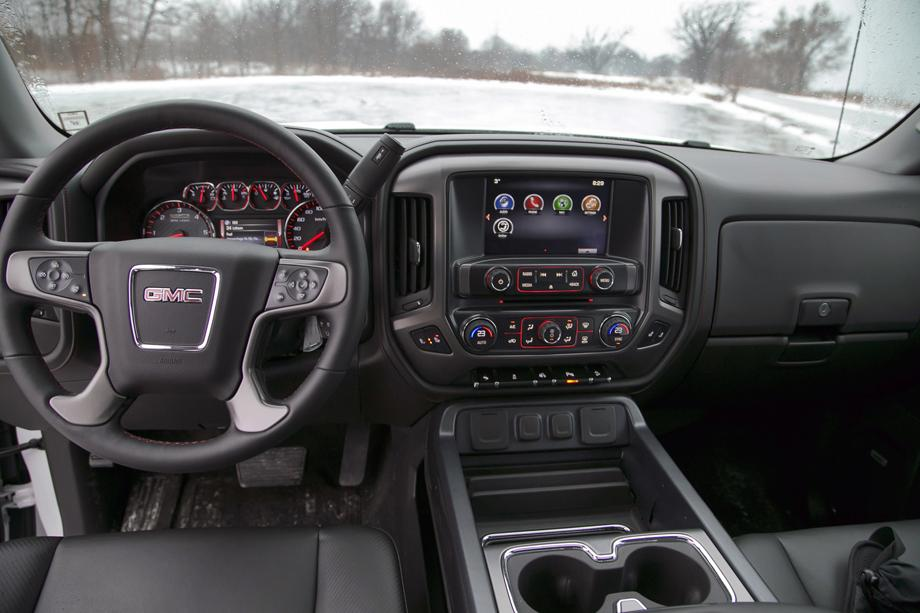 2014 GMC Sierra SLT 1500 4WD Crew Cab All-Terrain dashboard