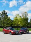 2015 Chrysler 200 vs Subaru Legacy