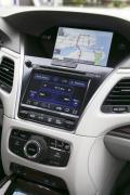 2015 Acura RLX Sport Hybrid SH-AWD centre stack