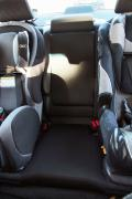 2015 Subaru Legacy 2.5i Touring rear seats with child seats installed