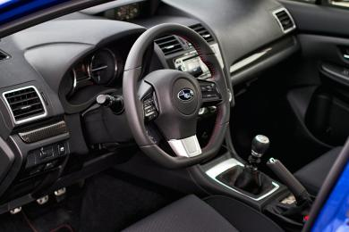 2015 Subaru WRX Sport Tech 6MT dashboard