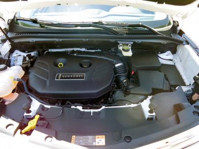 2015 Lincoln MKC engine bay