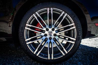 2015 Porsche Macan Turbo wheel