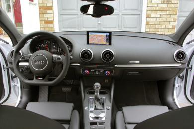 2015 Audi A3 2.0 TFSI Technik dashboard