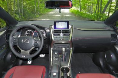 2015 Lexus NX dashboard