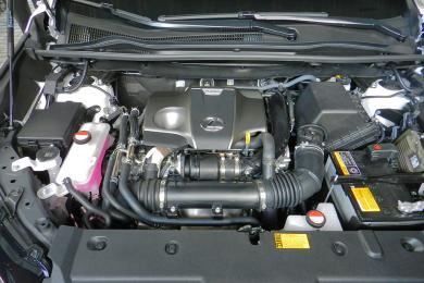 2015 Lexus NX engine bay