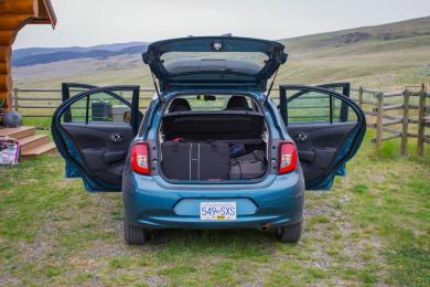 Road Trip: 2015 Nissan Micra SR, Calgary to Vancouver travel car test drives nissan
