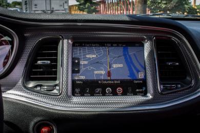 2015 Dodge Challenger Hellcat navigation